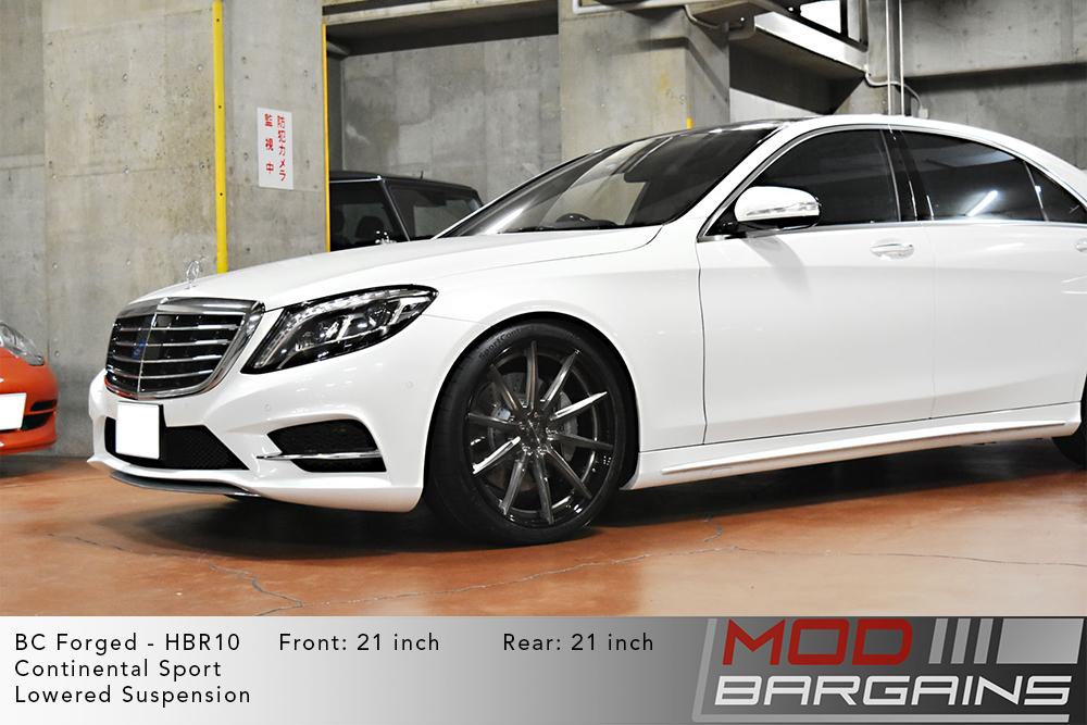 Mercedes W222 S300 BC Forged HBR10 Wheels ModBargains