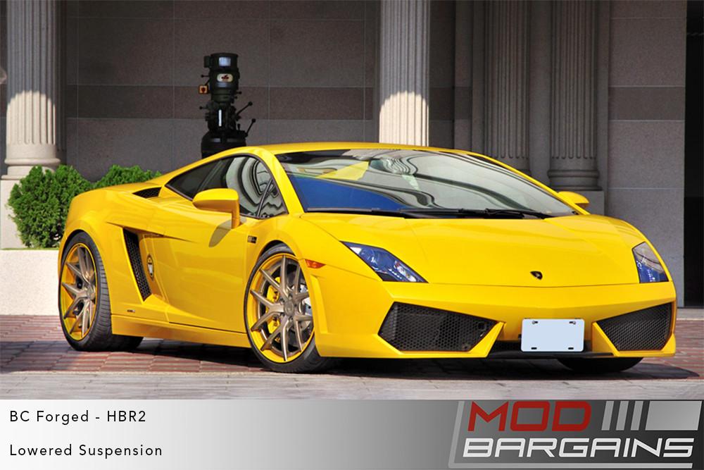 Lamborghini Gallardo BC Forged HBR2 Wheels ModBargains