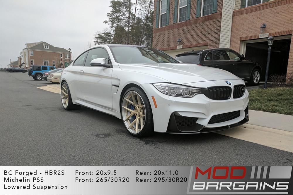 BMW F82 M4 BC Forged HBR2 Wheels ModBargains