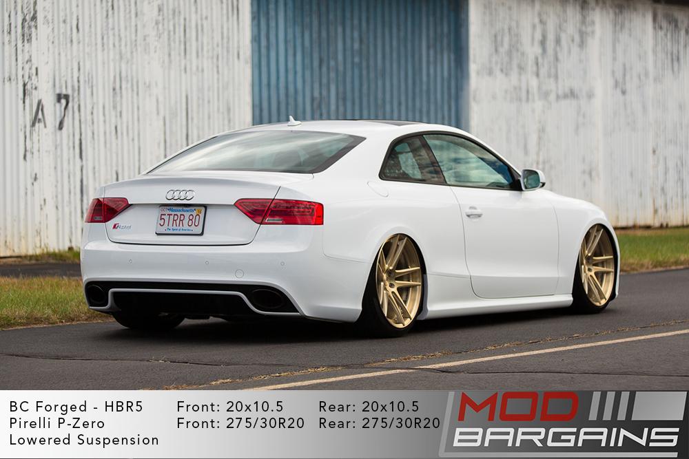 Audi B8.5 RS5 BC Forged HBR5 Wheels ModBargains