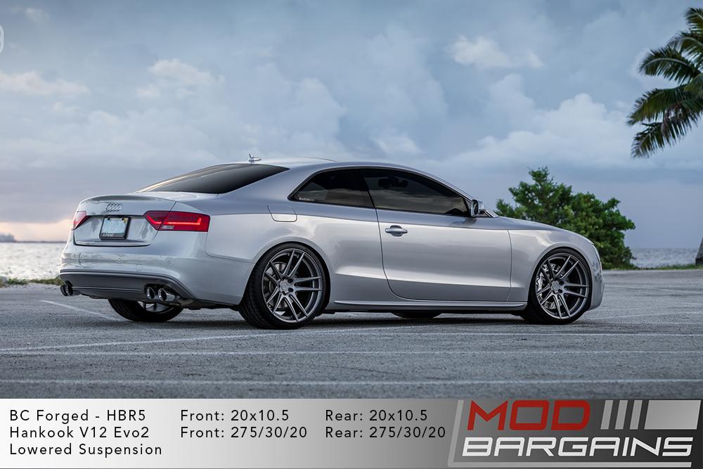 Audi B8.5 S5 BC Forged HBR5 Wheels ModBargains