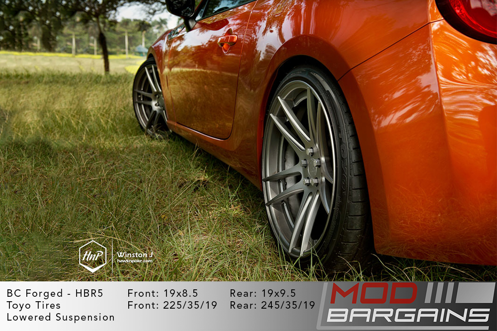 Scion FRS BC Forged HBR5 Wheels ModBargains