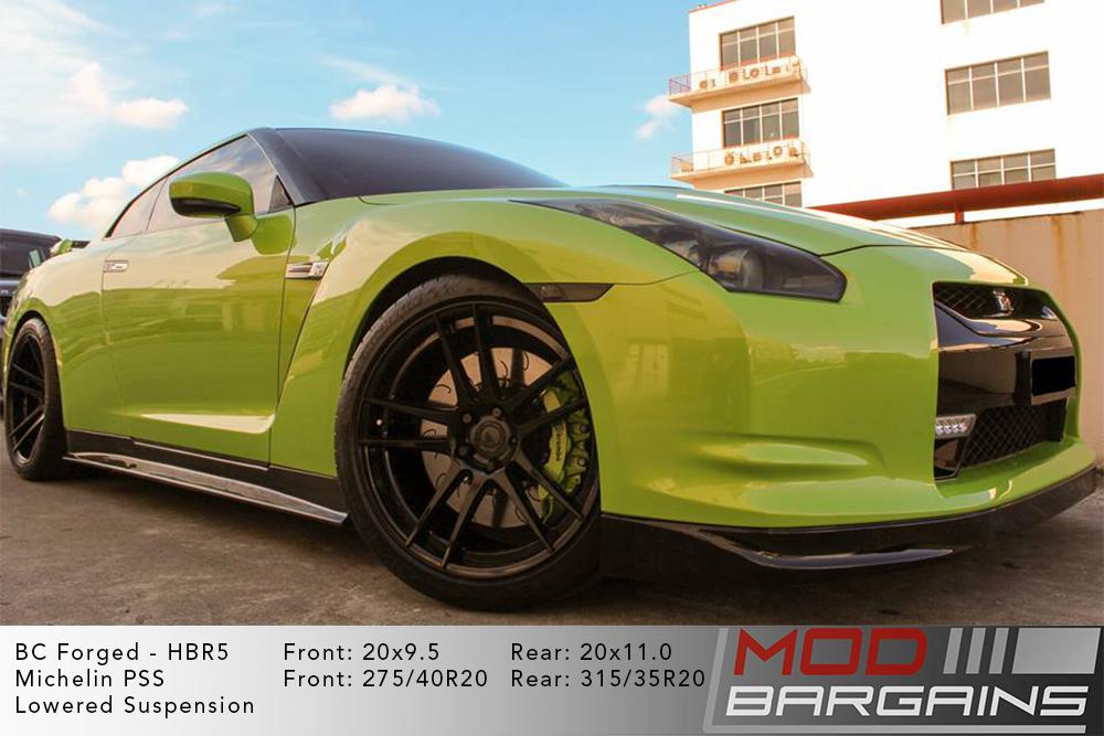 Nissan R35 GTR BC Forged HBR5 Wheels ModBargains
