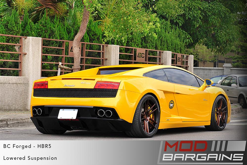 Lamborghini Gallardo BC Forged HBR5 Wheels ModBargains