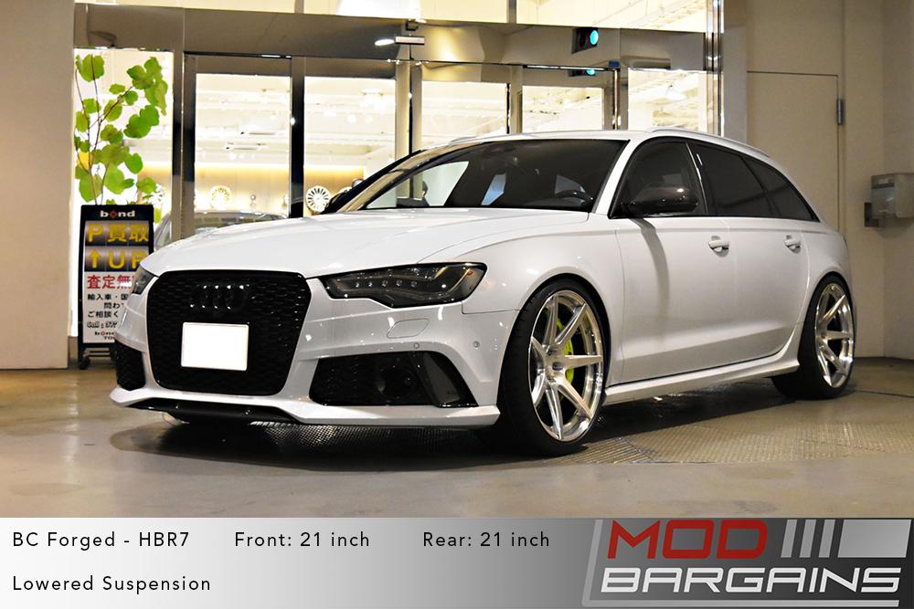 Audi C7 RS6 Avant BC Forged HBR7 Wheels ModBargains