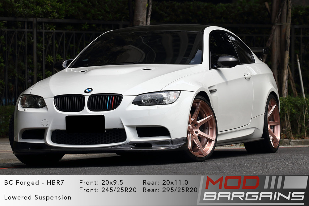 BMW E92 M3 BC Forged HBR7 Wheels ModBargains