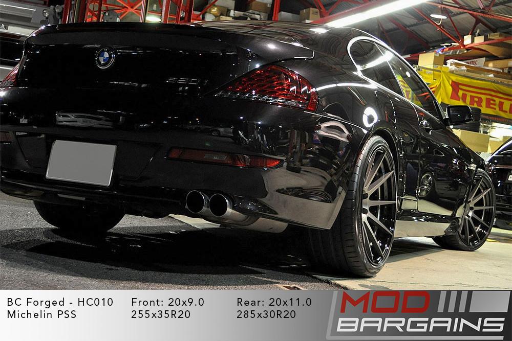 BMW E63 650i BC Forged HC010 Wheels ModBargains