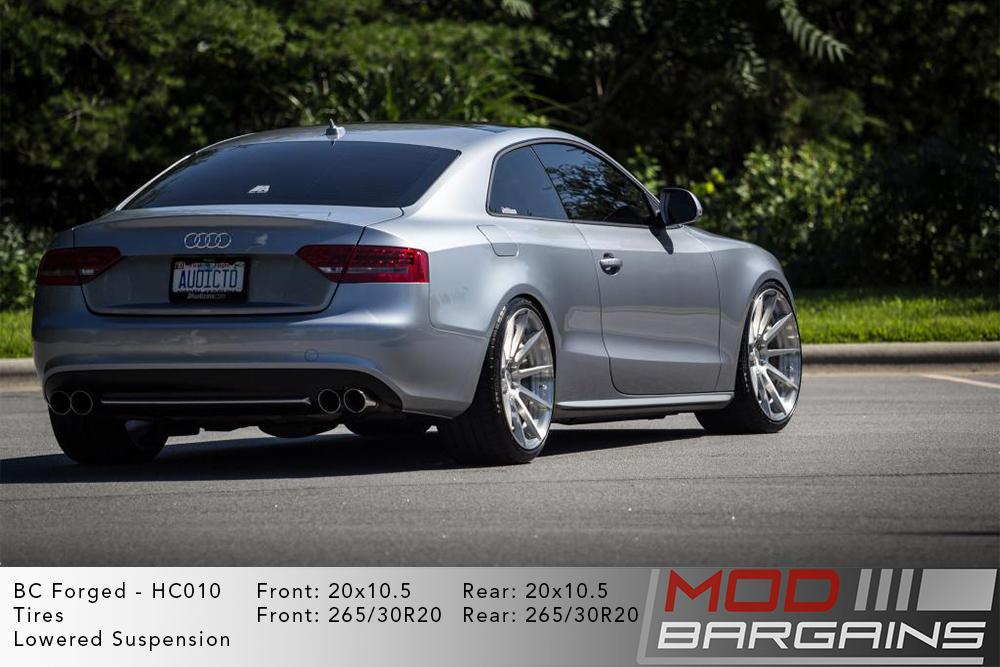 Audi B8 S5 BC Forged HC010 Wheels ModBargains