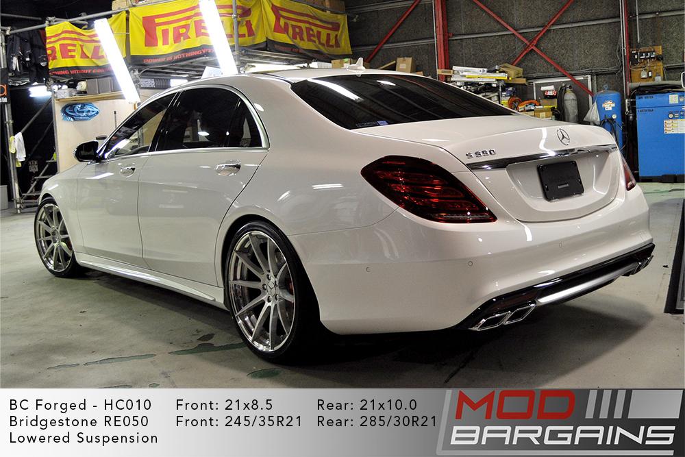 Mercedes W222 S550L BC Forged HC010 Wheels ModBargains