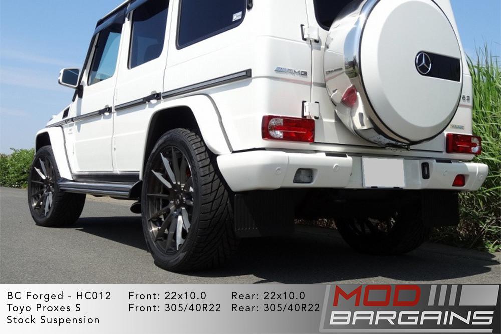 Mercedes G-Wagon BC Forged HC012 Wheels ModBargains