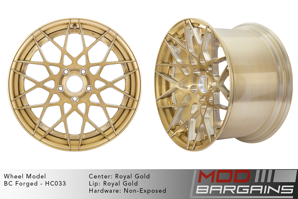 BC Forged Modular HC033 Wheels Modbargains