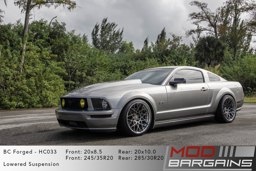 S197 Ford Mustang BC Forged HC033 Wheels ModBargains