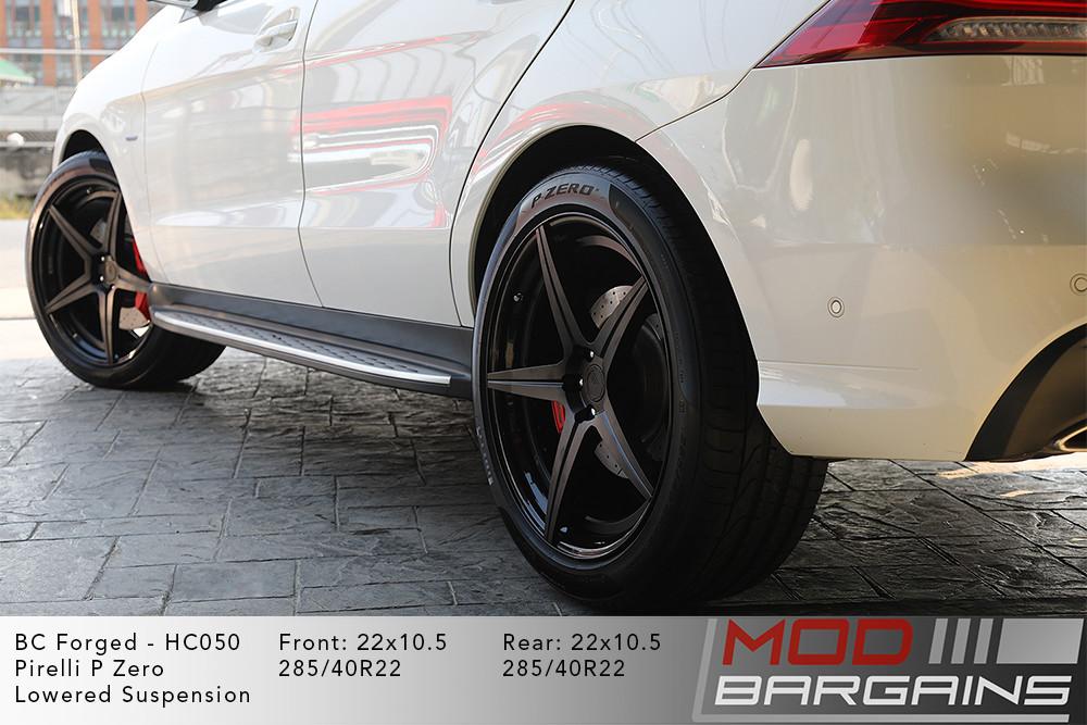 Mercedes W166 GLE500e BC Forged HC050 Wheels ModBargains