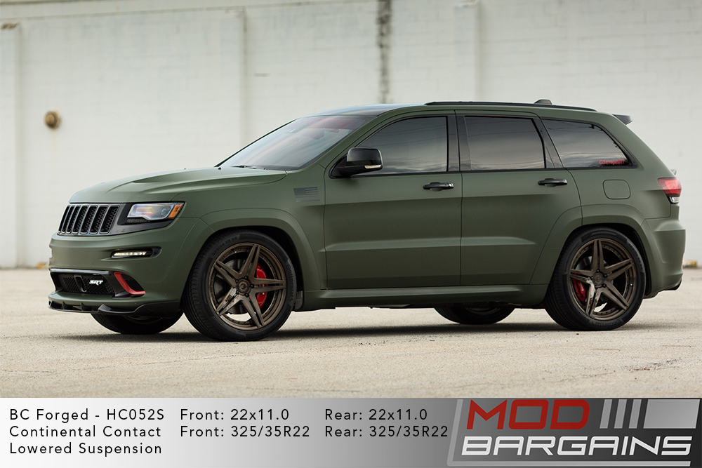 Jeep SRT8 BC Forged HC052 Wheels ModBargains