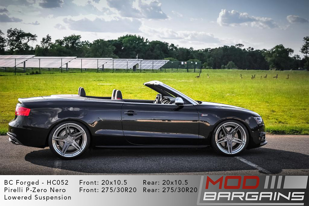 Audi B8.5 S5 BC Forged HC052 Wheels ModBargains