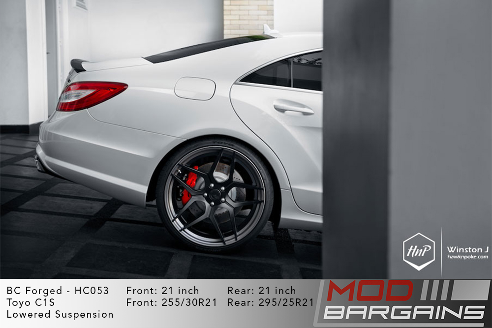 Mercedes W218 CLS BC Forged HC053 Wheels ModBargains