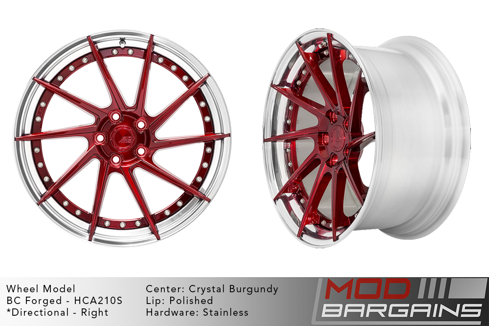 BC Forged Modular HCA210 Wheels Modbargains