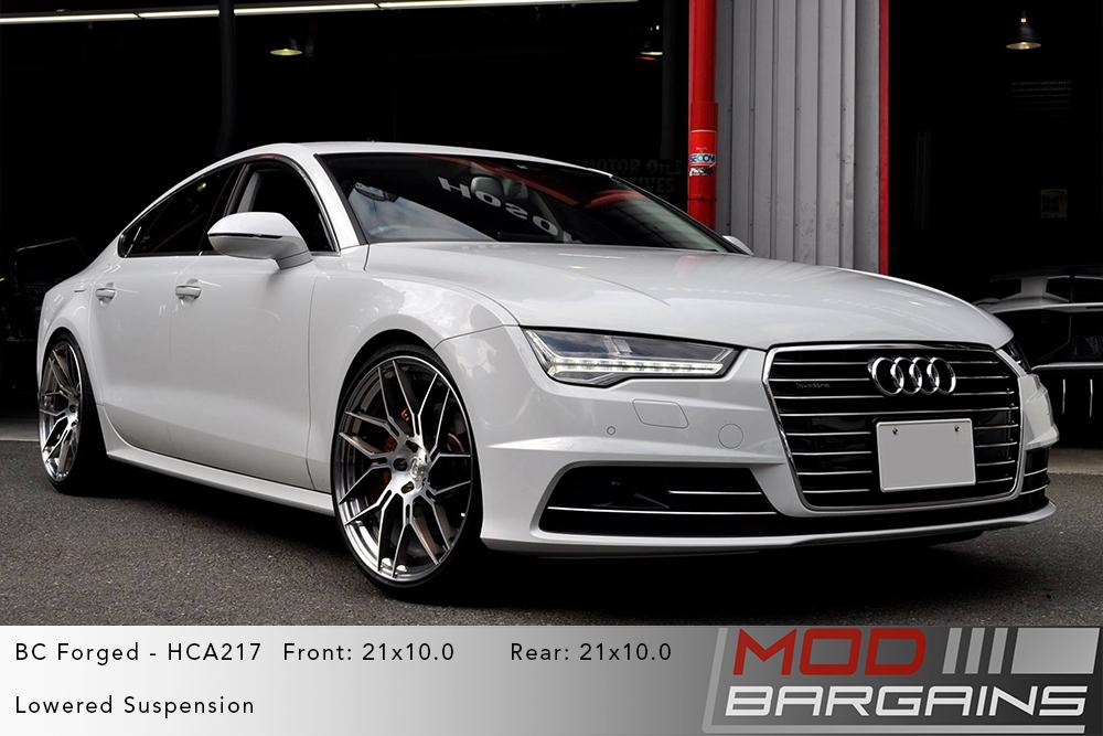 Audi GB4 A7 on 21 inch BC Forged HCA217 Wheels Modbargains