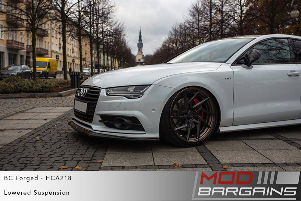 White Audi GB4 A7 S7 on BC Forged HCA218S Wheels Modbargains