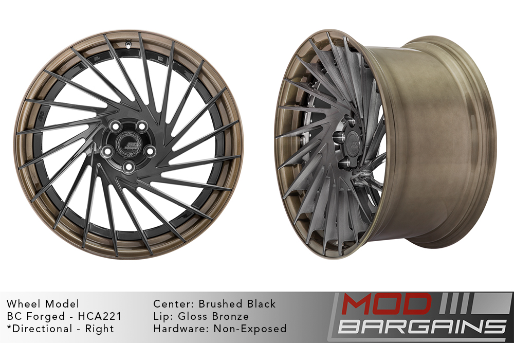 BC Forged Modular HCA221 Wheels Modbargains