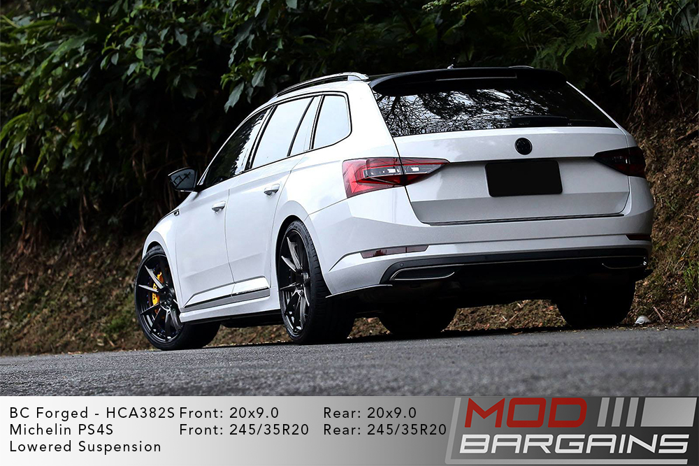 Black Mercedes W205 C63 AMG on BC Forged HCA382 Wheels Modbargains