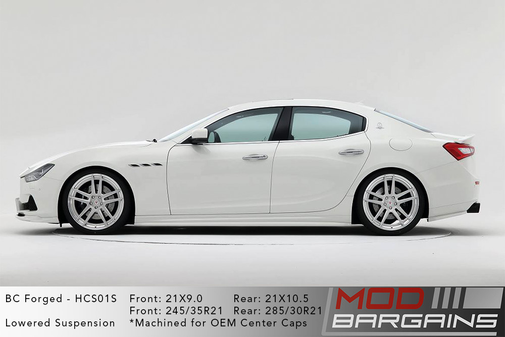 Maserati Ghibli BC Forged HCS01 Wheels Modbargains