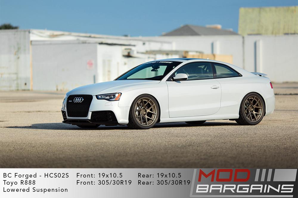 Audi RS5 BC Forged HCS02 Wheels Modbargains