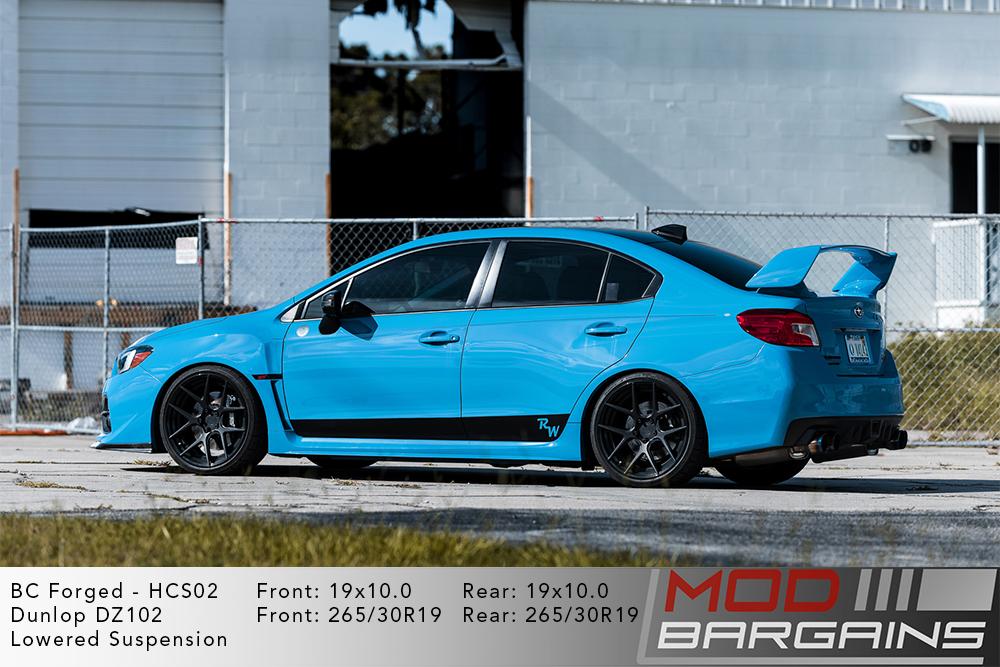 Subaru WRX STI VA BC Forged HCS02 Wheels Modbargains