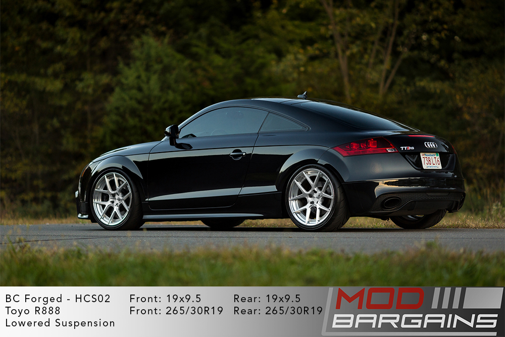 Audi TTRS BC Forged HCS02 Wheels Modbargains