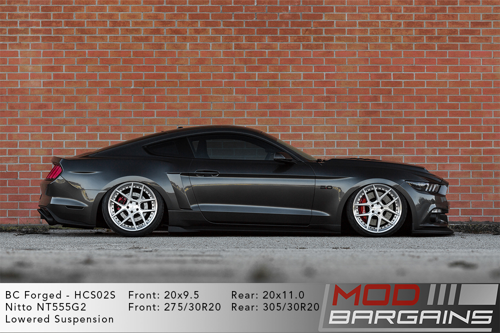 Ford Mustang GT BC Forged HCS02 Wheels Modbargains