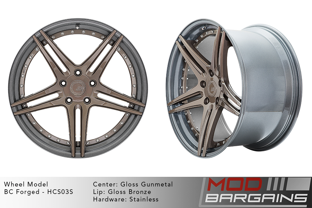 BC Forged Modular HCS03 Wheels Modbargains