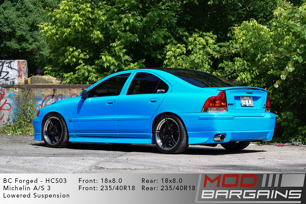 Volvo S60R BC Forged HCS03 Wheels Modbargains