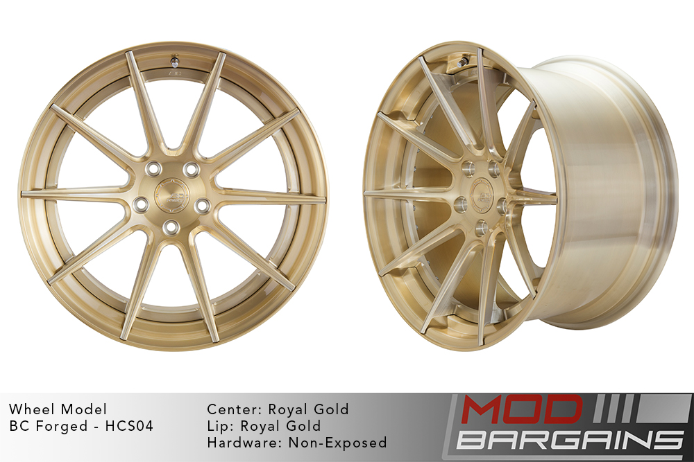 BC Forged Modular HCS04 Wheels Modbargains