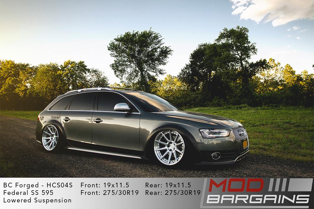Audi A4 Allroad BC Forged HCS04 Wheels Modbargains