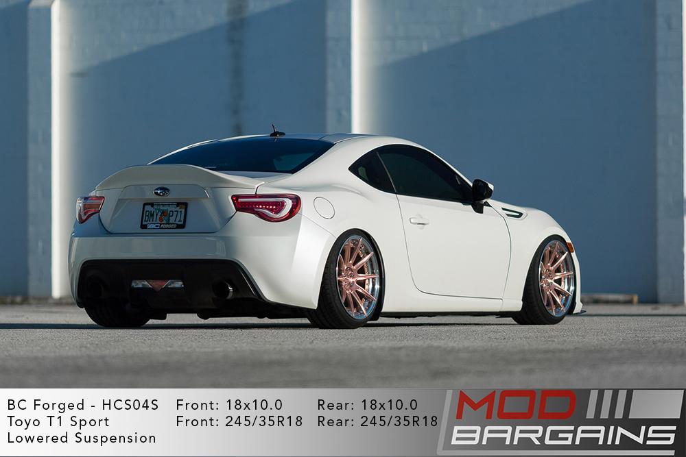Subaru BRZ BC Forged HCS04 Wheels Modbargains