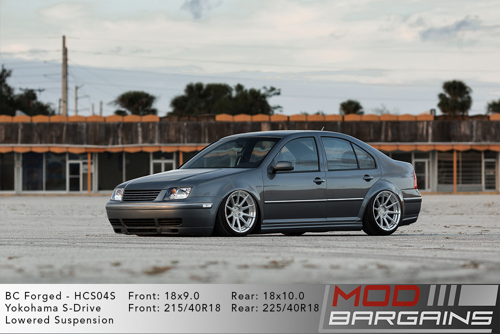 VW Jetta GLI BC Forged HCS04 Wheels Modbargains