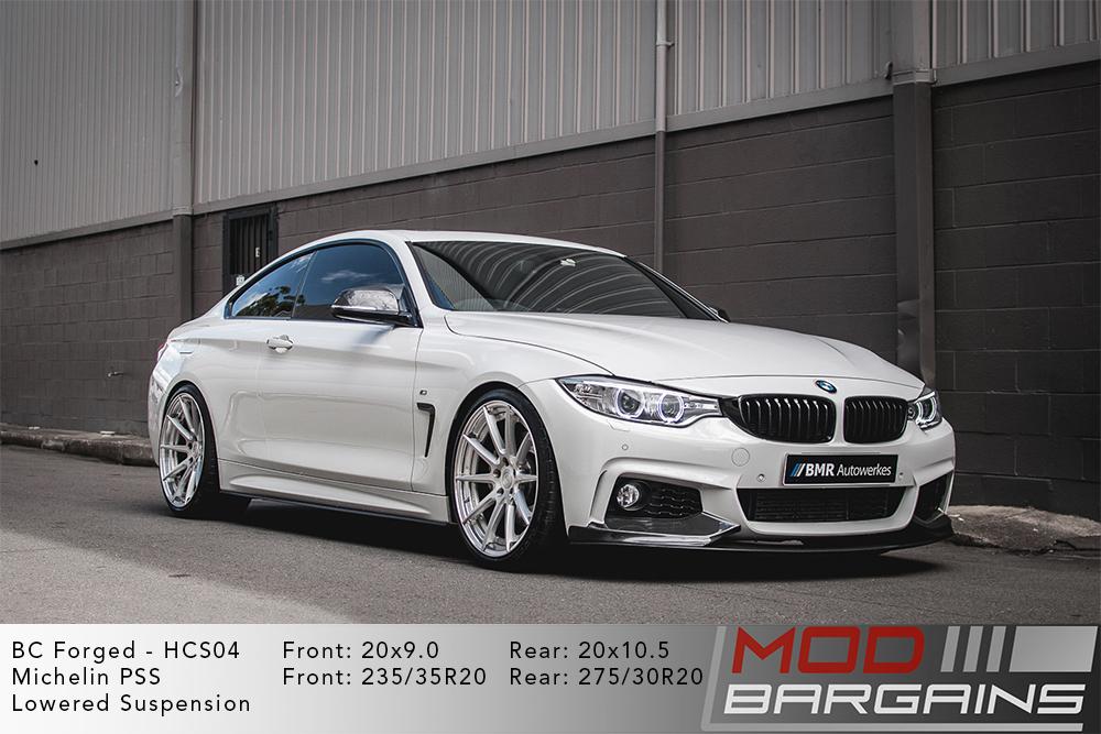 BMW F32 435i BC Forged HCS04 Wheels Modbargains