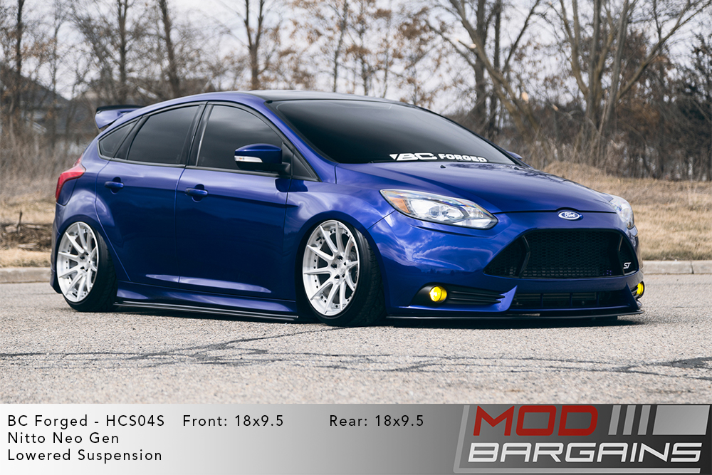 Ford Focus ST BC Forged HCS04 Wheels Modbargains