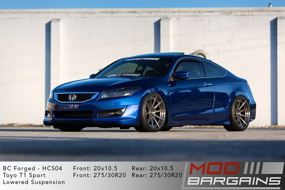 Honda Accord Coupe BC Forged HCS04 Wheels Modbargains