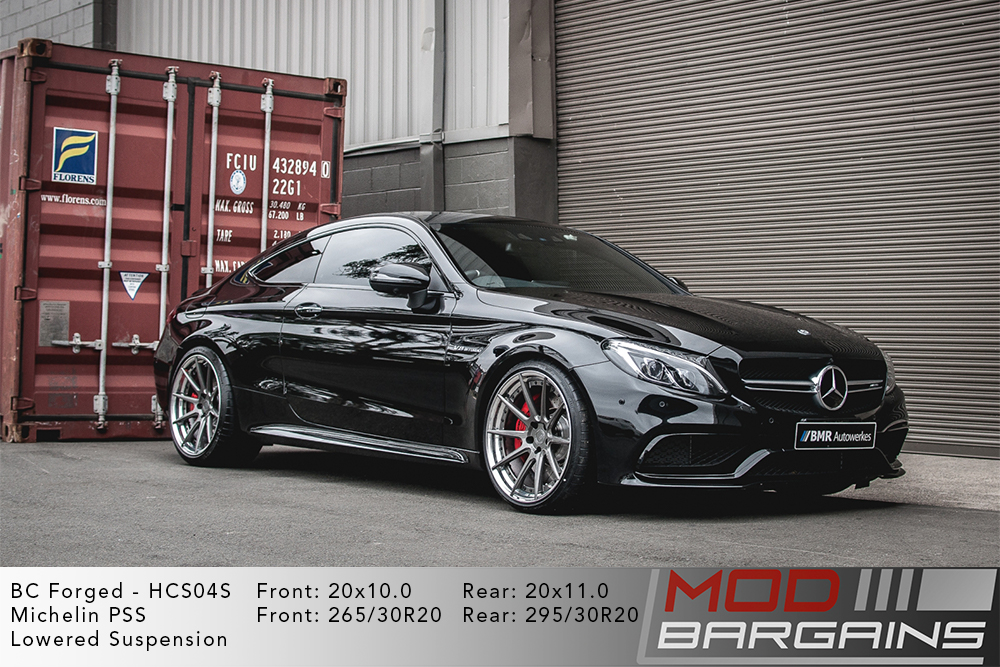 Mercedes Benz W205 C63S AMG BC Forged HCS04 Wheels Modbargains