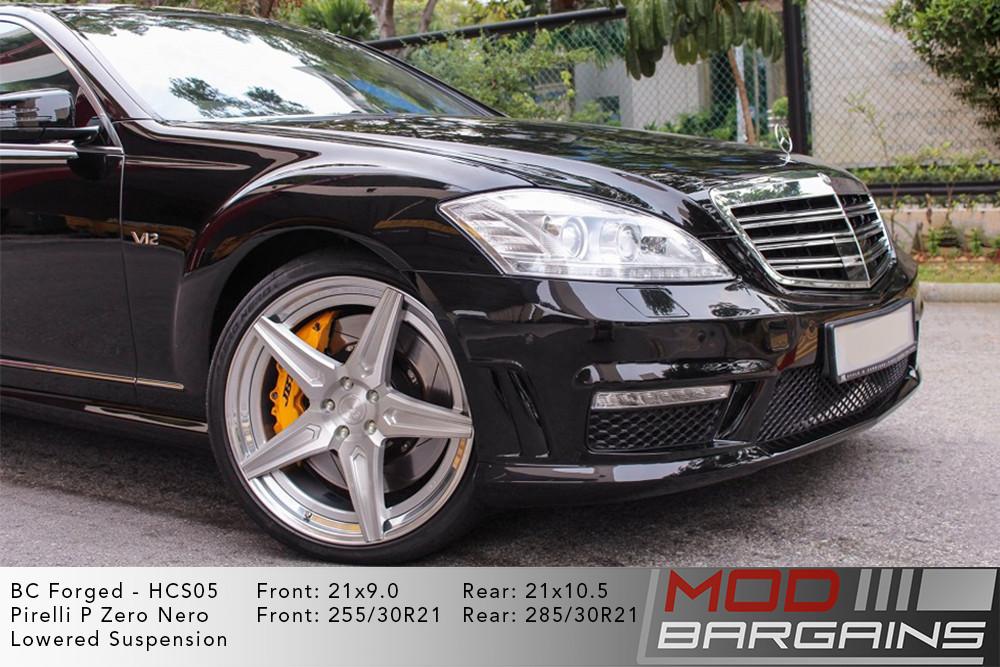 Mercedes W221 S Class BC Forged HCS05 Wheels Modbargains