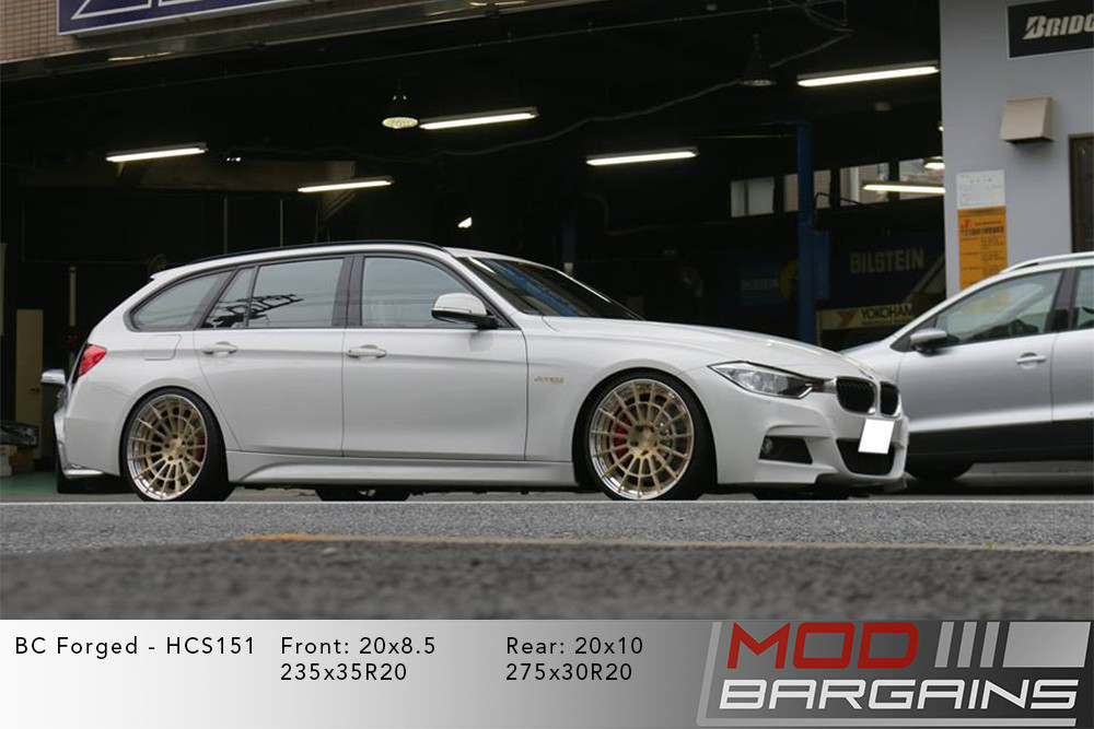 BMW F31 Wagon BC Forged HCS151 Wheels ModBargains