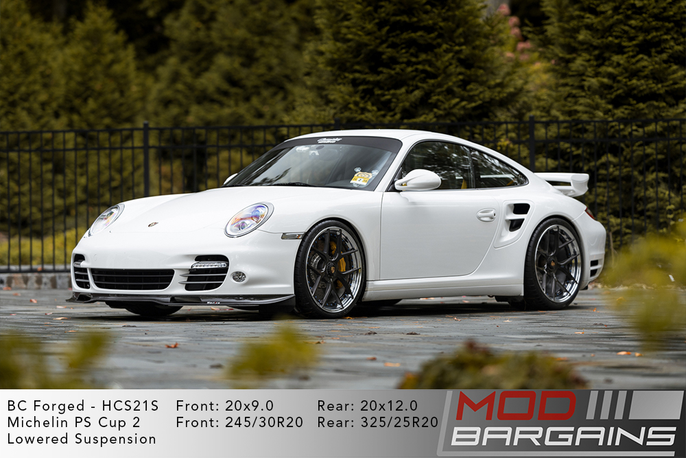 997 911 Turbo S BC Forged HCS21 Wheels Modbargains