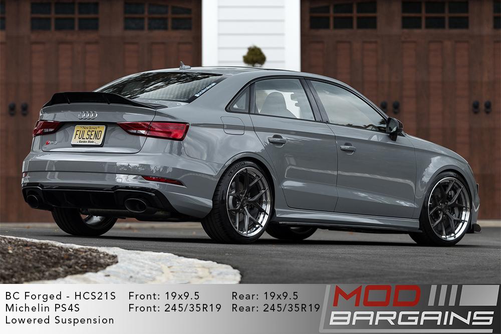 Audi RS3 BC Forged HCS21 Wheels Modbargains