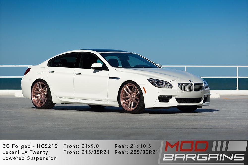 BMW F06 6-Series BC Forged HCS21 Wheels Modbargains