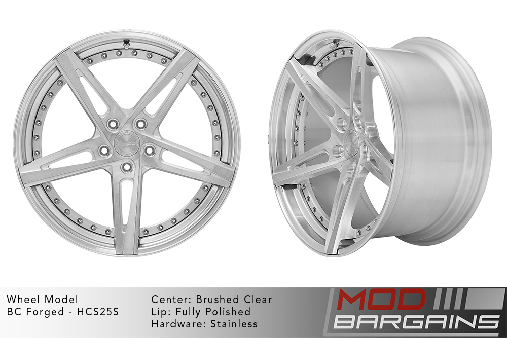BC Forged Modular HCS25 Wheels Modbargains