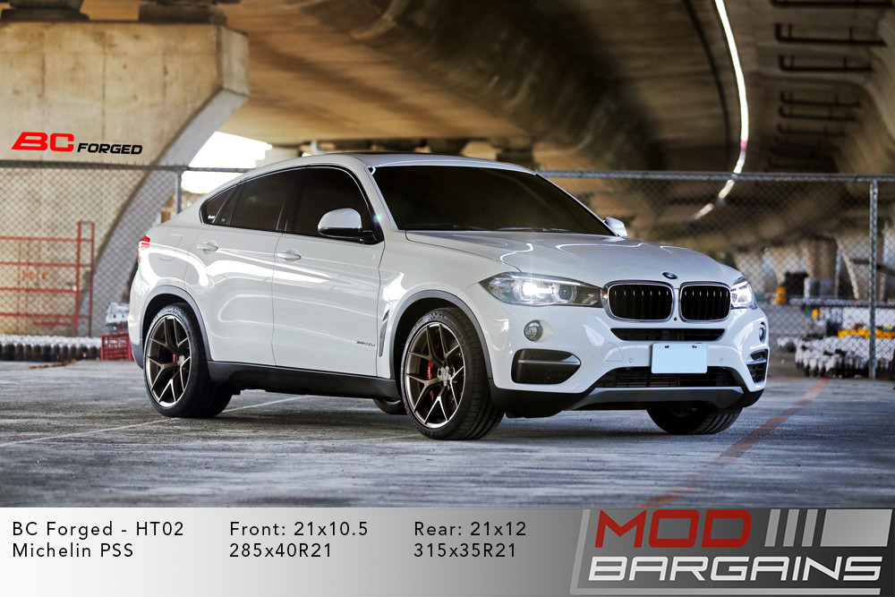 BMW F16 X6 BC Forged HT02 Wheels ModBargains