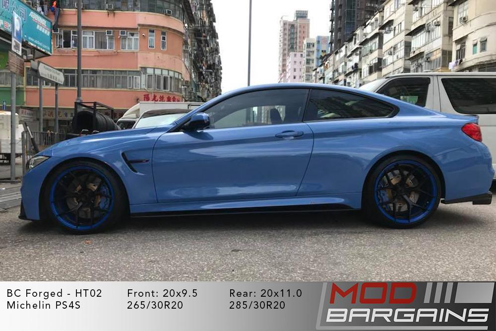 BMW F82 M4 BC Forged HT02 Wheels ModBargains