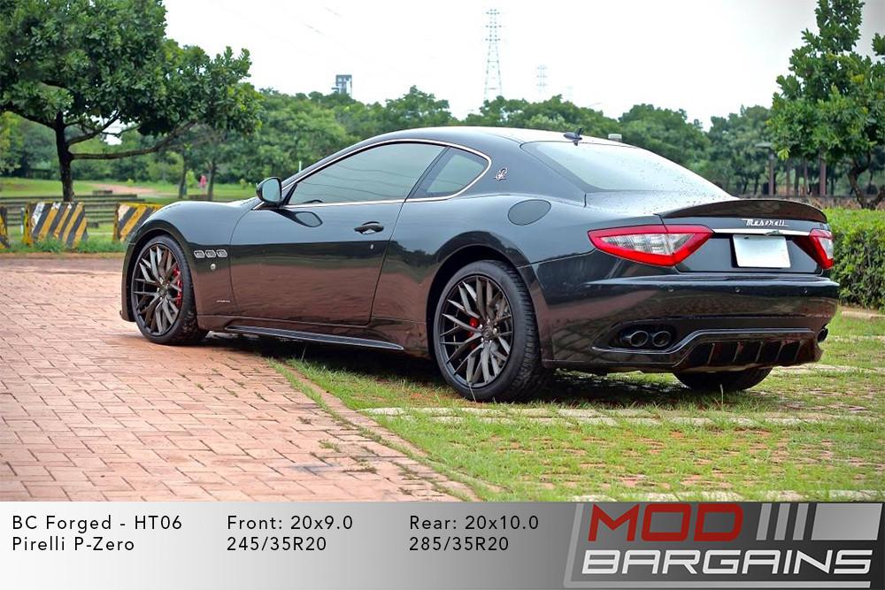 Maserati Gran Turismo BC Forged HT06 Wheels ModBargains