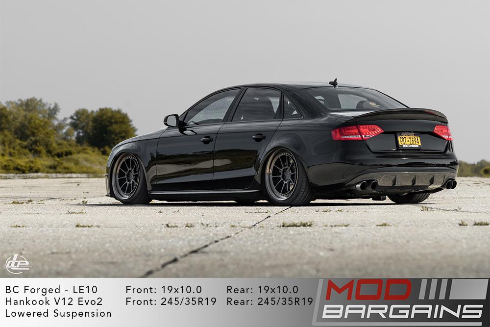 Audi B8.5 S4 Black BC Forged LE10 Wheels Modbargains